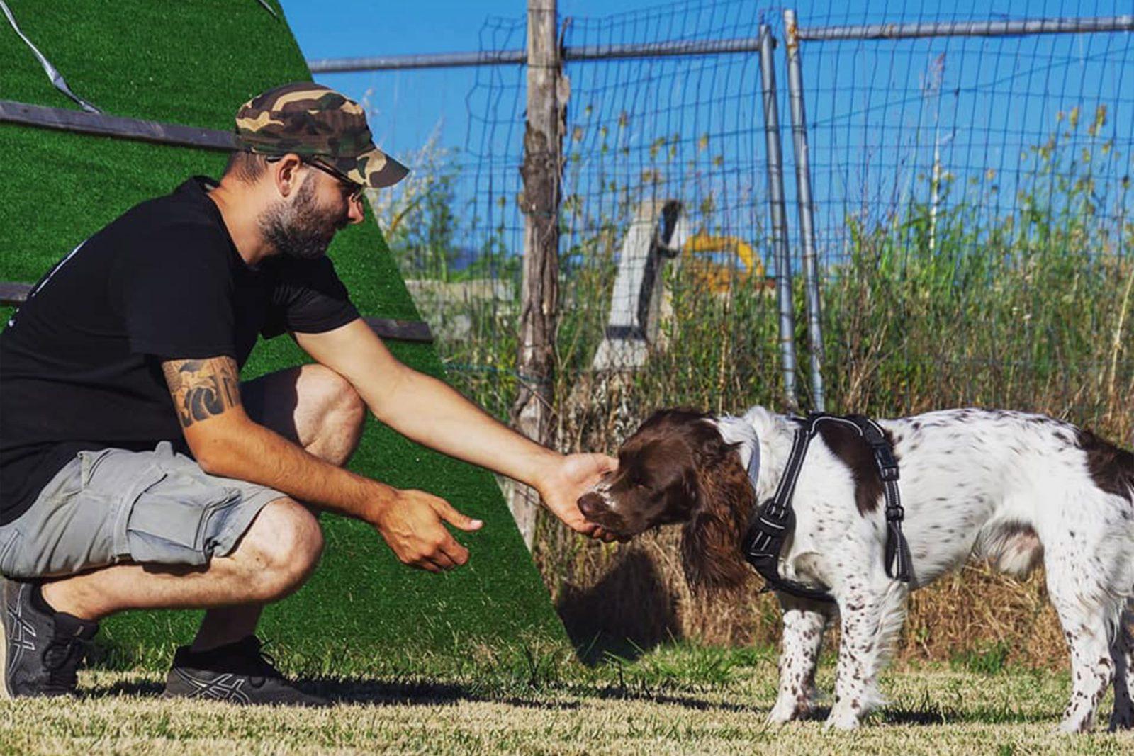 Alessio Lugliè - Tecnico Opes Cinofilia di Cani da ricerca tartufo